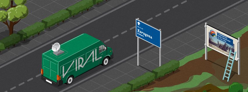 Viral is in Zaragoza to represent Portugal at the V Congress of the Ibero-American Culture